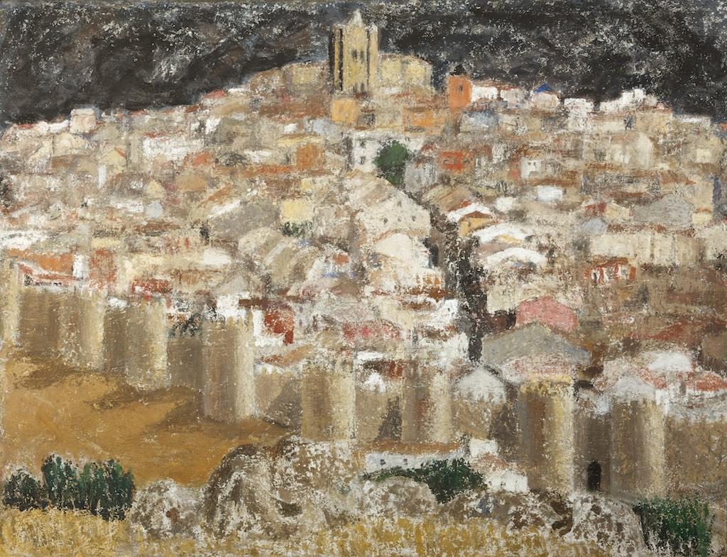 13Avila C. 1985 Técnica mixta sobre lienzo de 89 x 116 cm.