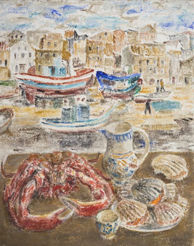 16Bodegón, 1985-87 Técnica mixta sobre lienzo de 92 x 73 cm. (FILEminimizer)