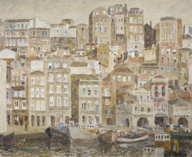 19El Berbés, 1985-87 Técnica mixta sobre lienzo de 146 x 182 cm. (FILEminimizer)