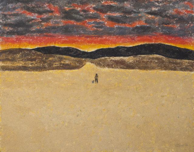 20Paisaje, 1985-87 Técnica mmixta sobre tela de 73 x 92 cm. (FILEminimizer)