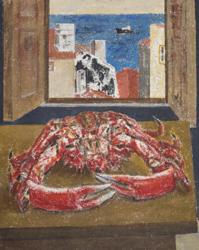 20bCentollo, 1985-87 Técnica mixta sobre lienzo de 81 x 65 cm. (FILEminimizer)