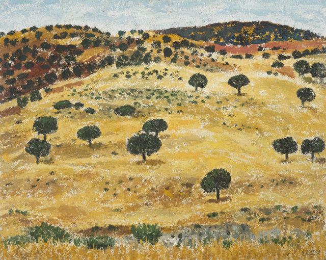 24Pisaje, 1985-90 Técnica mixta sobre tela de 65 x 81 cm. (FILEminimizer)