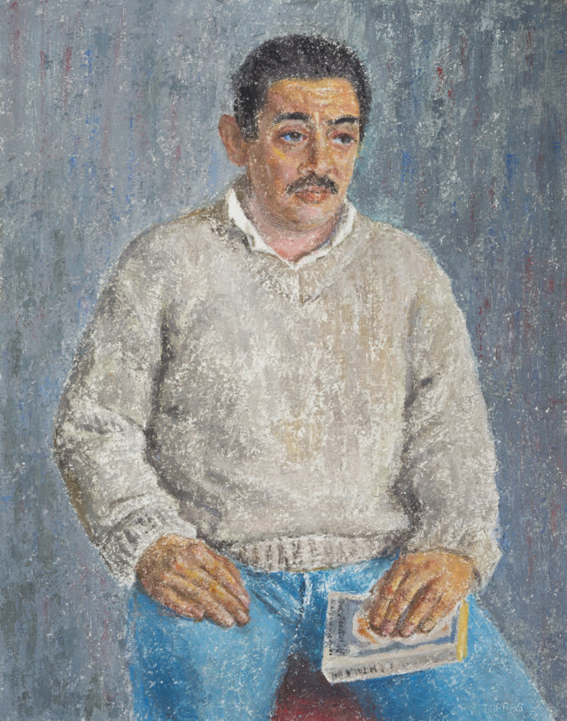 27Retrato, 1985-87 Técnica mixta sobre tela de 92 x 73 cm. (FILEminimizer)