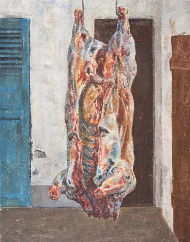 30b Toro, 1885-87 Técnica mixta sobre lienzo de 146 x 114 cm. (FILEminimizer)