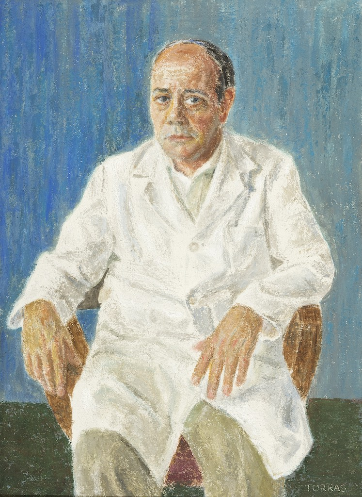 01_Retrato Dr Cesareo Hernandez_1996_100x73