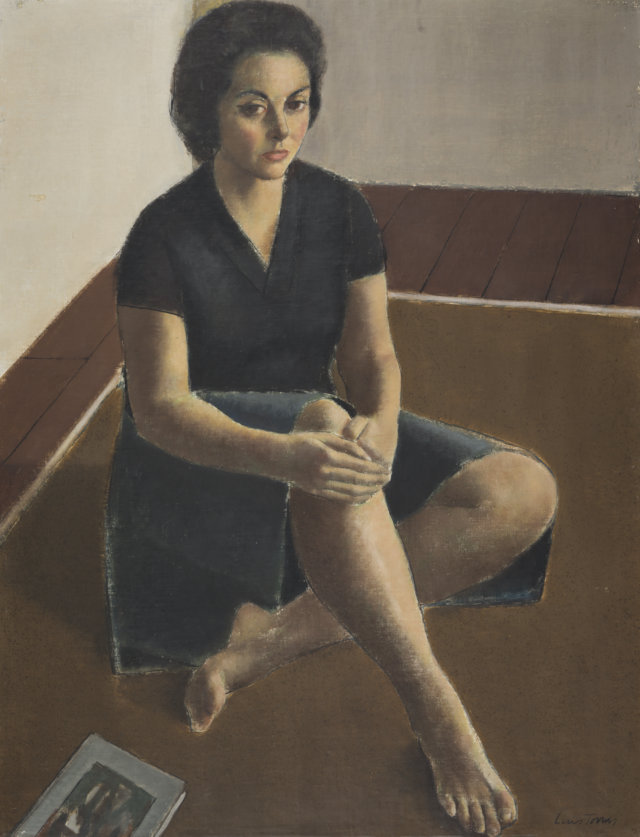 6Retrato, 1960 Temple sobre lienzo de 116 x 89 cm. (FILEminimizer)