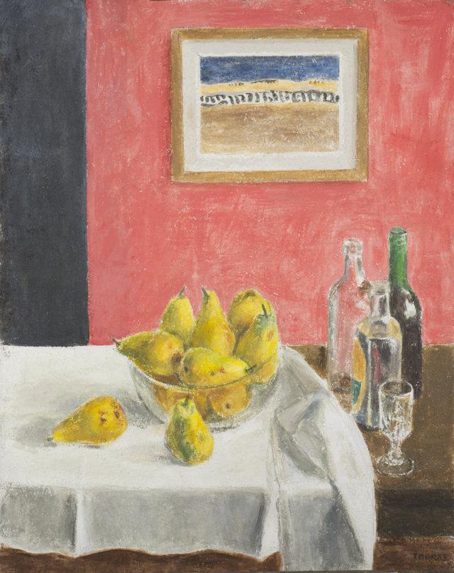 Bodegón, 2015 Técnica mixta sobre lienzo de 92 x 73 cm. (FILEminimizer)