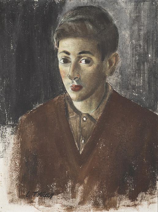 Joven,  1964  Fresco  65 x 50 cm_